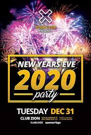 new year s template download new years eve 2020 free flyer template