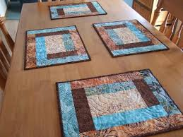 circle quilt pattern placemat | placemats I like these and they ... & circle quilt pattern placemat | placemats I like these and they are simple.  These are Adamdwight.com