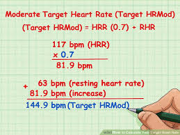 Target Heart Rate By Age And Gender Chart 2 Simple Ways To Calculate Your Target Heart Rate Wikihow