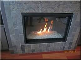 gas fireplace with glass gas fireplace glass cleaner menards