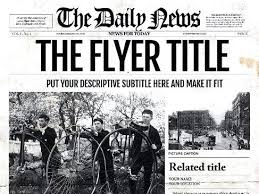 Newspaper Psd Template Download Free Newspaper Photoshop Template Old Download Syncla Co
