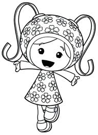 Team Umizoomi Coloring Page Cute Little In Creativeinfotechinfo