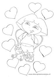 Dora Kleurplaten Dwacme