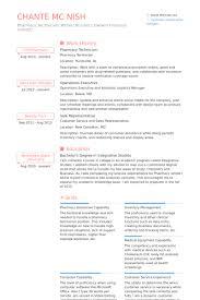 Pharmacy Technician Resume Templates Classy Pharmacy Tech Resume Examples Funfpandroidco