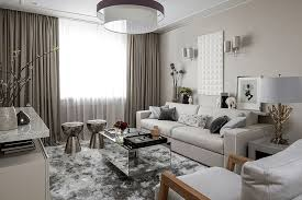 mirrored coffee table for scandinavian living room