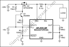 max4373 electronic circuit breaker simple circuit diagram Circuit Breaker Schematic max4373 circuit breaker circuit schematic diagram circuit breaker schematic symbol