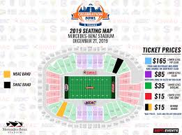 Air Force Academy Football Seating Chart Seating Map Celebration Bowl