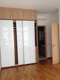 bedroom cabinets designs. Wonderful Designs Glorious White Glozzy Sliding Doors Built In Wardrobe On Fake Wooden Floors  Contemporary Master Bedroom Cabinets Designs Intended A