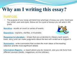 different kinds of essay writing co different