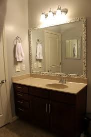 Diy Large Wall Mirror Bathroom Elegant Bathroom Decor With Large Framed Bathroom