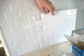 Peel And Stick Kitchen Tile Peel And Stick Tile In A Rv Love This Would Be Great For The Rv