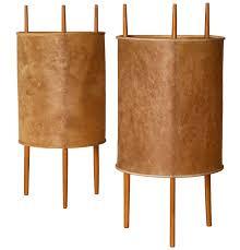isamu noguchi lighting. Delighful Lighting Isamu Noguchi Early Pair Of Table Lamps All Original By Knoll 1947  For Noguchi Lighting