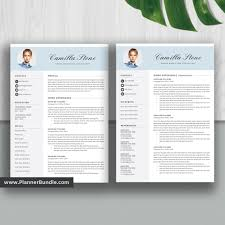 Simpleresume Template Word Job Cv Template Design Creative And Modern Resume Cover Letter Instant Download For 2019 2020 Professionals