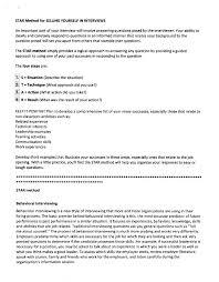 Star Interviewing Method Interview Star Method Mwb Online Co