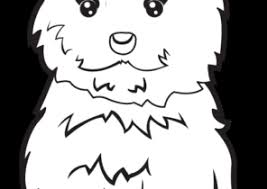 Snowman and penguin coloring page. Puppy Coloring Pages Coloring4free Com