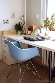 home office work room furniture scandinavian. Home Office, Work Space, Ikea Desk, Eames Chair, Scandinavian Style Office Room Furniture