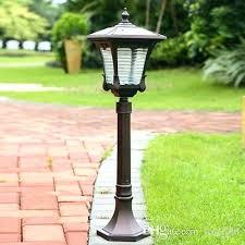 garden lamp post. New Garden Lamp Post And Yard Posts Solar Power Led Street Lights Super Bright .