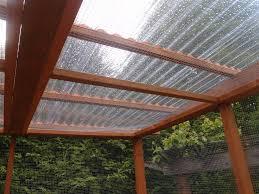 adding corrugated plastic roofing