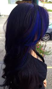 Subtle Blue Highlights 50 Stylish Highlighted Hairstyles For Black Hair 2017