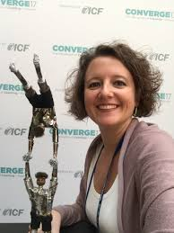"""Ozlem SARIOGLU on Twitter: """"ICF Global President dear Hilary Oliver  @footprintcoach presented her award to all ICF members this year. So here's  the award! #ICFConverge… https://t.co/jsUdpRoQ5h"""""""