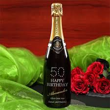 Geburtstagsgeschenk Edler Champagner Zum 50 Geburtstag
