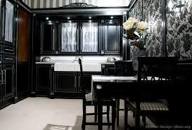 traditional black kitchen kitchen ideas black cabinets57 cabinets