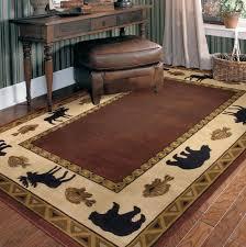 log cabin style area rugs rustic home design ideas