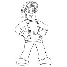 Mooie Brandweerman Sam Kleurplaten Leuk Voor Kids