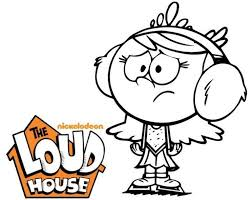 The Loud House Coloring Page The Loud House Coloring Pages House