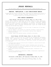 Hvac Sales Engineer Resume Sample Design Samples Pdfve Examples