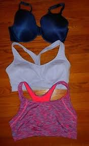Sports Bras Set Of 3 Marvel True To Me Sz L And Xl Preowned