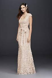 gold wedding dresses gowns short long david s bridal