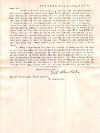 library of virginia civil war research guide john brown s raid letter of f b sanborn concord mass to joseph bryan 1897 jan