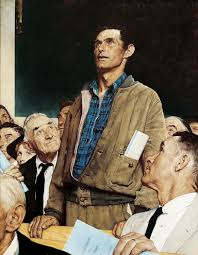 freedom of sch norman rockwell was a 20th century american painter and ilrator most famous for the cover ilrations of everyday life scenarios