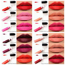 details about 15 color mac makeup matte liquid lipstick waterproof matte lip gloss cosmetics
