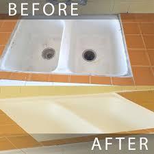 kitchen sink reglazing los angeles before and after sink reglazed with regard to reglaze kitchen
