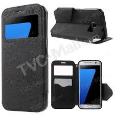 roar diary view leather case for samsung galaxy s7 edge g935 black 1