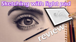 Huion A4 Light Box How To Sketch With Huion A4 Light Pad Review