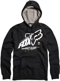 black fox racing mens constant shift pullover hoody 2016