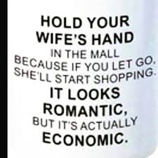 40 very funny marriage pictures and photos Humorous Wedding Advice hold your wife's hand in the mall because if you let go, she'll humorous wedding advice for bride