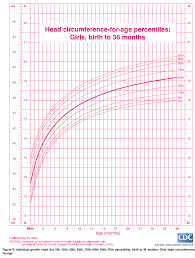 Head Circumference Chart Specific Centile Chart Girl Head Growth Head Circumference