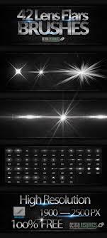 50 High Quality Light Spotlight Photoshop Brushes 42 Lens Flare Brushes Photoshop Add Ons Photoshop
