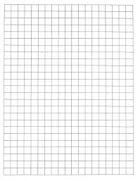 Large Graph Paper Template 1 Inch Graph Paper Template