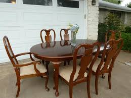 Dining Room Sets 6 Chairs Queen Anne Dining Room Furniture Beautiful Cherrywood Queen Anne