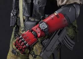 gecco metal gear solid v venom snake statue arm