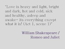 Quotes About Love From Romeo And Juliet