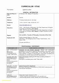 Two Page Resume Luxury Two Page Resume Template Luxury Resume Pdf