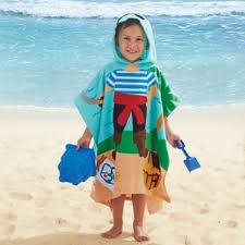 kids hooded beach towels. Pirate Kids Hooded Towel Beach Towels