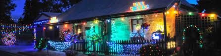 Lobethal Lights Christmas Lights Adelaide Hills Town Christmas
