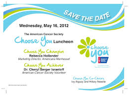 American Cancer Society's Choose You Luncheon 2012